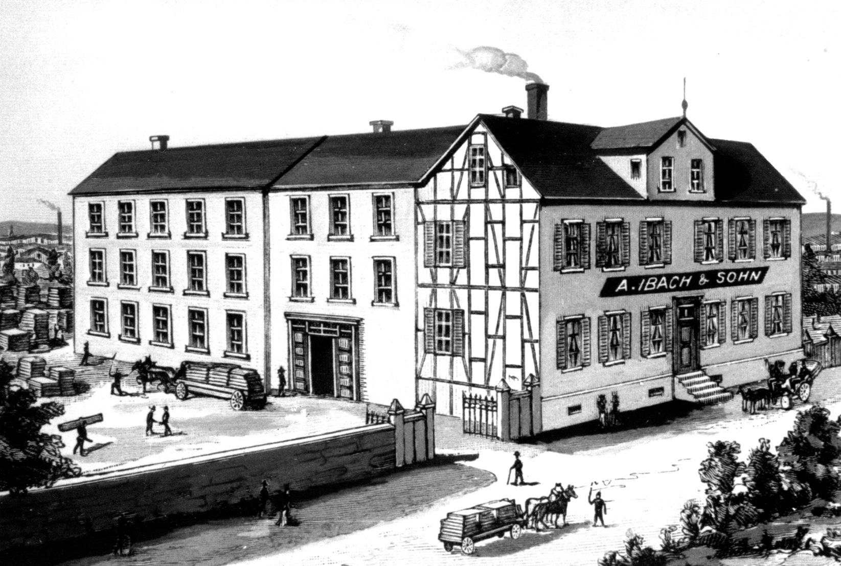 """1816/17 – Umzug """"An die Allee"""" in Barmen"""