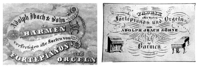 1794 – Gründung der Orgel- und Klavierbauwerkstatt