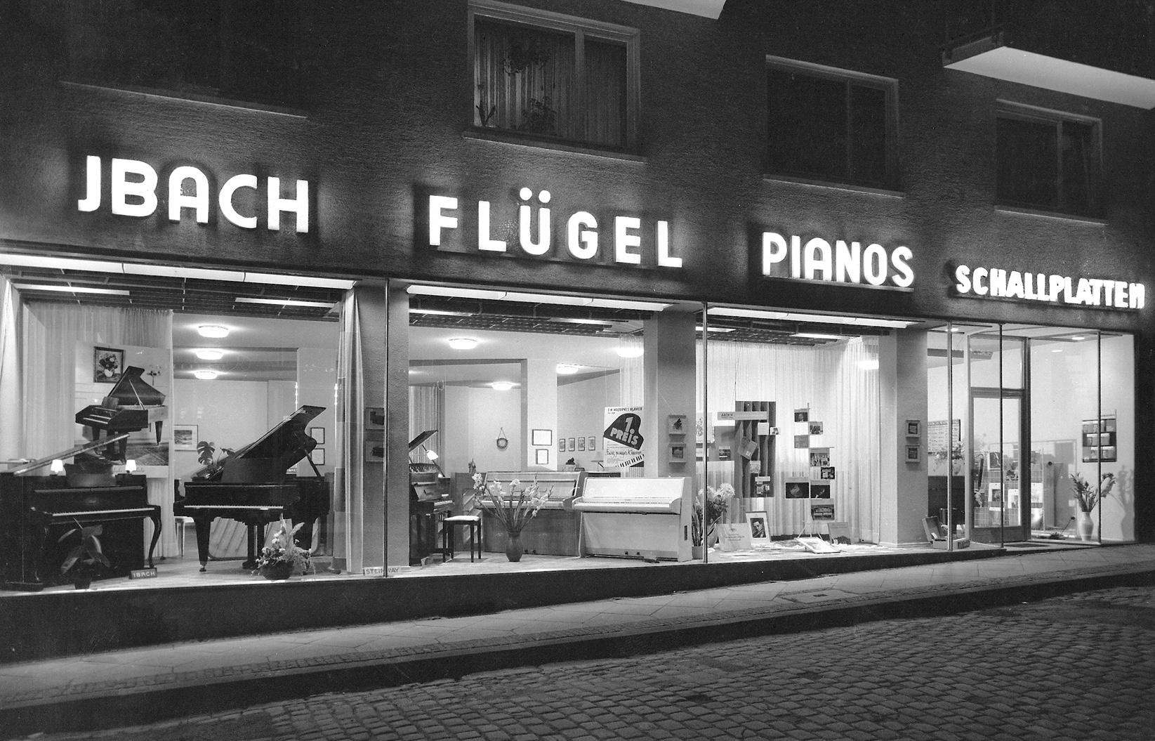 1956 – das 100.000 Instrument entsteht
