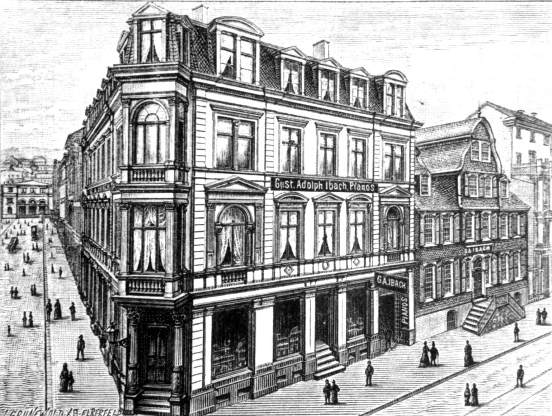 1862 – Gustav Adolf Ibach gründet eigene Klavierfabrik
